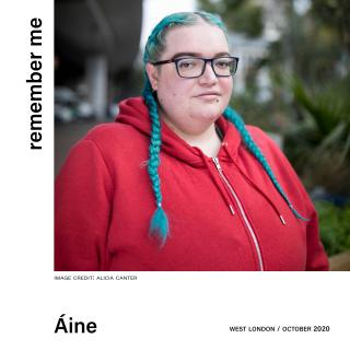 Aine headshot image in West London