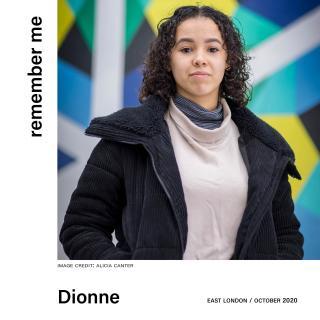 Dionne in Walthamstow High Street