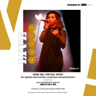 GRM Daily Sponsored Open Mic Event