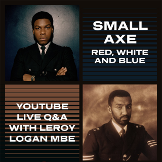 Small Axe Panel with Leroy Logan and young people