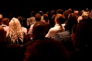 Audience at Lighting the Fire Awards